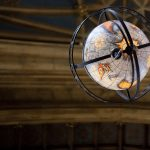 globe from Suzzallo library