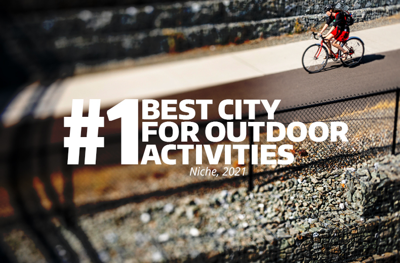 GET OUTSIDE, Seattle is a great place to get active outdoors, with easy access to parks, forests, mountains and water.