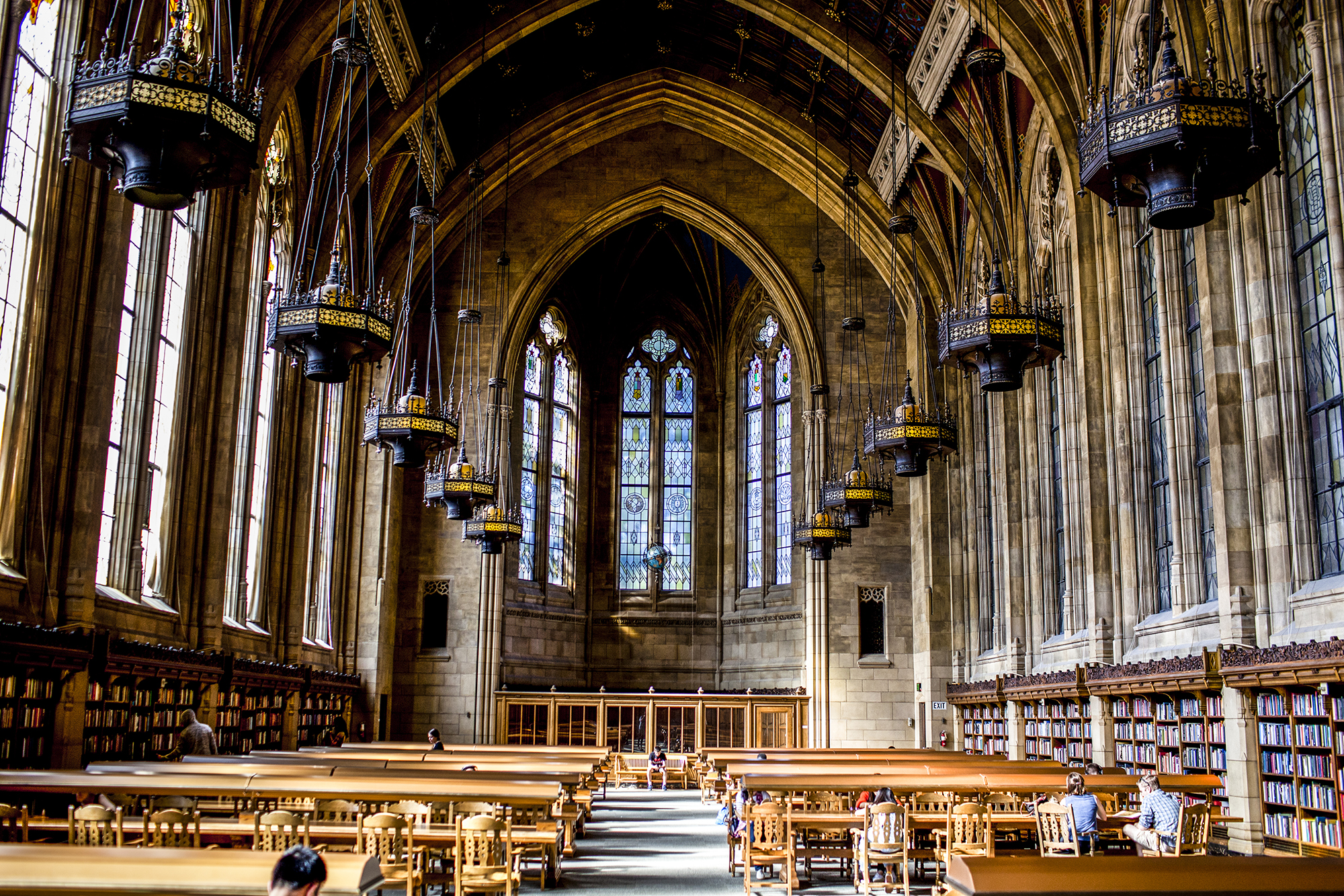 Suzzallo Library, This Gothic-style library is an architectural marvel. It may not truly be Hogwarts, but it sure is magical.