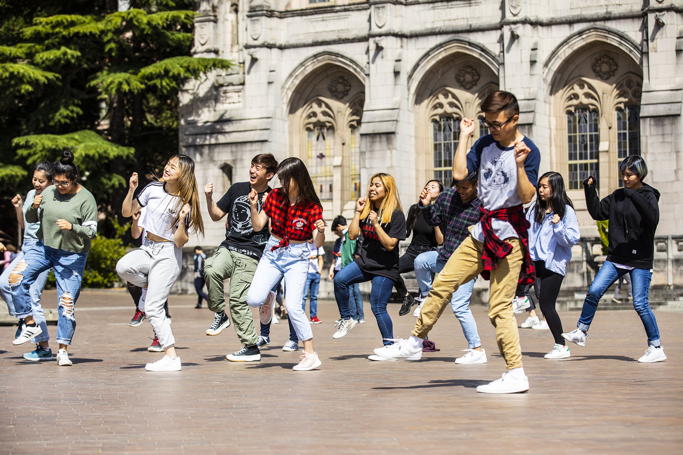 STUDENT CLUBS, BTS joined student K-pop dance group THE KOMPANY to perform on Red Square. You never know what fun you'll find in a student club!