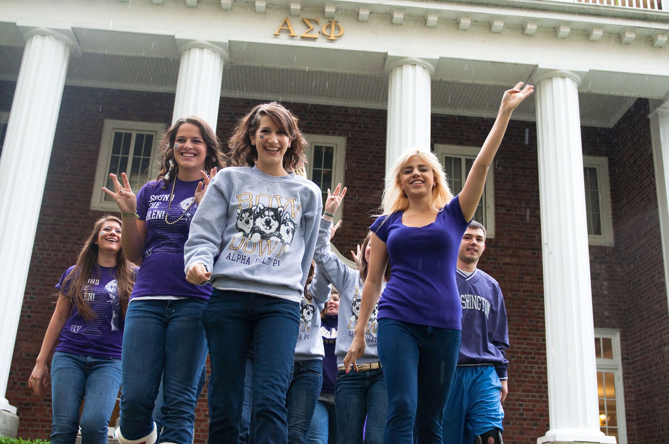 GREEK LIFE, About 4,400 UW students are part of our 65 fraternities and sororities.