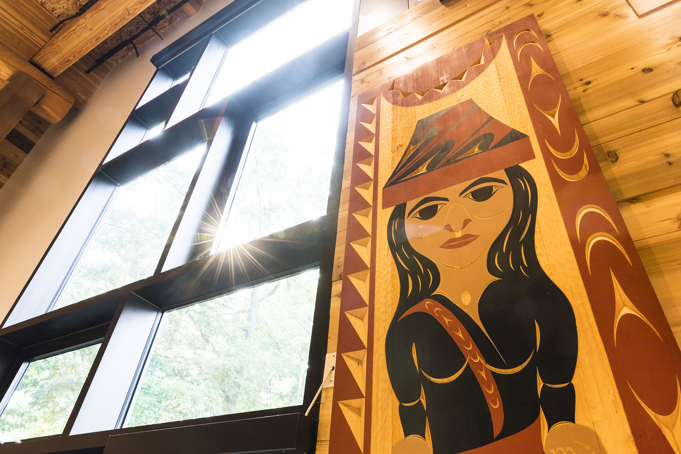 WƎⱢƎBʔALTXʷ– INTELLECTUAL HOUSE, A longhouse-style learning and gathering space for American Indian and Alaska Native students, faculty and staff — and the broader UW community.